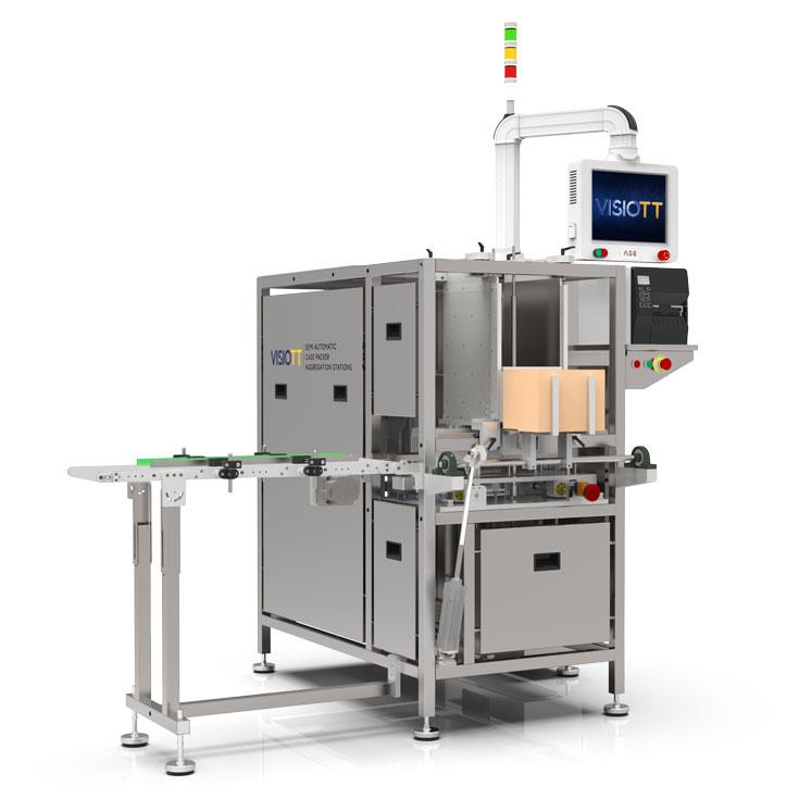 SACP-100 Empacotadora Semi-automática com Agregação